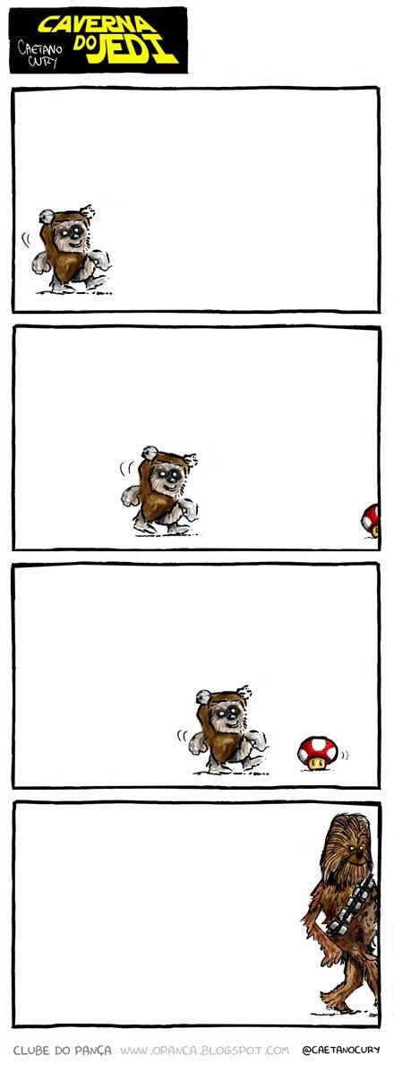 Petit Ewok deviendra grand