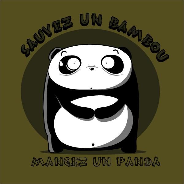 Sauvez un bamboo, mangez un panda !