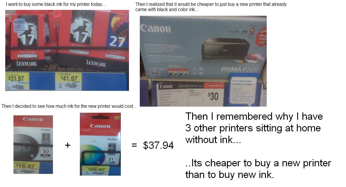 [Actu] Vous avez une imprimante? Ceci vous intéresse !