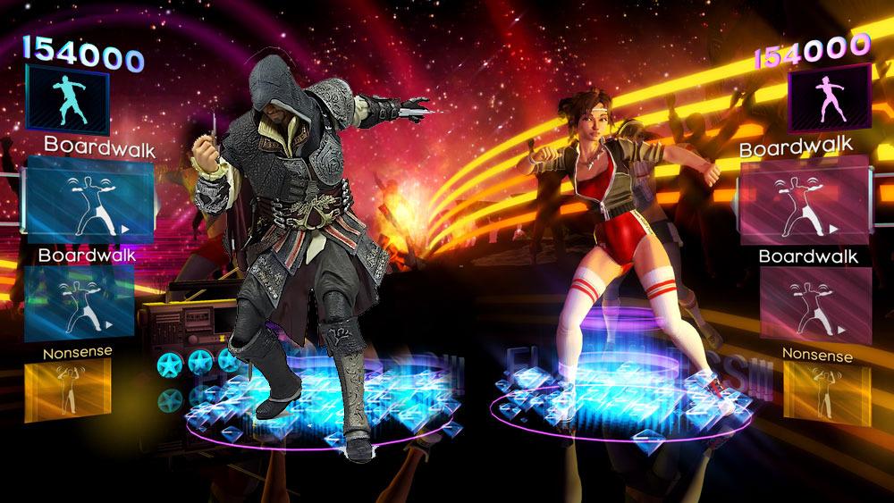 Exclue Totale !!! Ezio Auditore jouable dans Dance Central 2 !!!