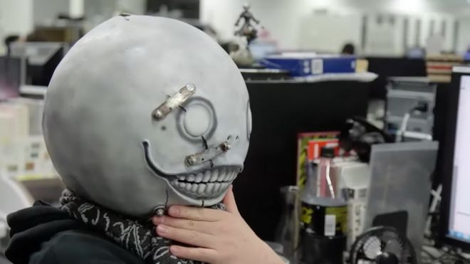 nier automata machine mask