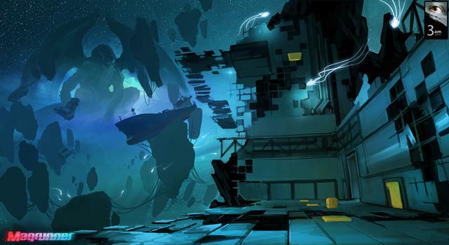 Cthulhu cyberpunk ? Magrunner, un Portal-Like.