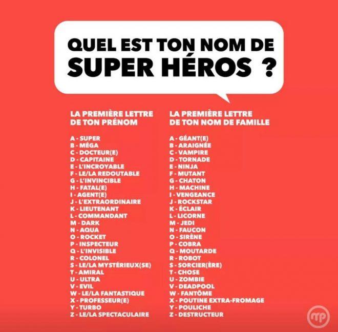 Quel est ton nom ? - Le Blog de Donald87 - Blogs - Gameblog.fr