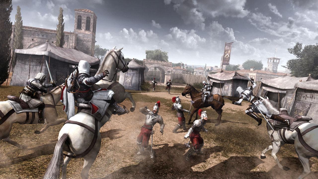 Les recrues de Ezio