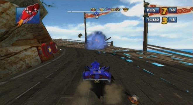 screenshot sonic & sega all stars racing