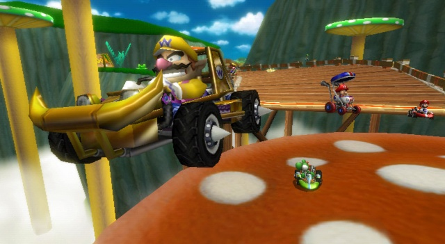 screenshot mario kart