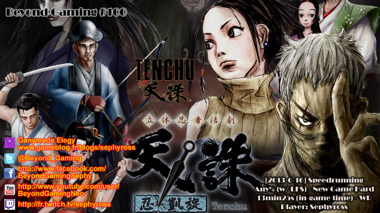 Beyond Gaming #100 Tenchu: Stealth Assassins - You can't beat me when I try