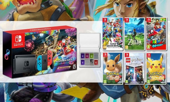 nintendo switch pack arms