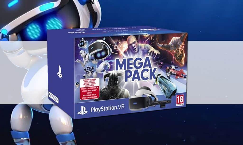Playstation VR : un MegaPack + 5 jeux à 229 euros !