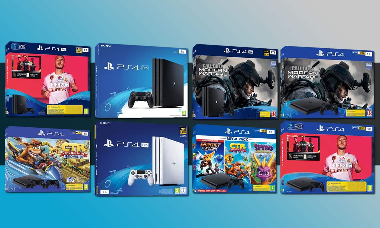 Bon plan PS4 : les meilleurs packs dès 189€