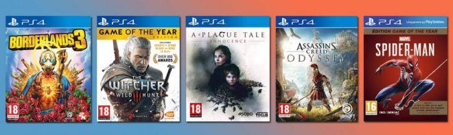soldes jeux vidéo 2020 jeux ps4