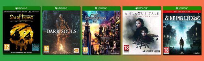 soldes jeux vidéo jeux xbox one