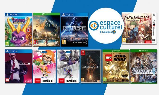 soldes jeux vidéo leclerc récap 2020