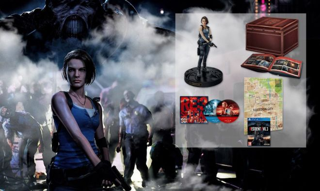 resident evil 3 collector header news
