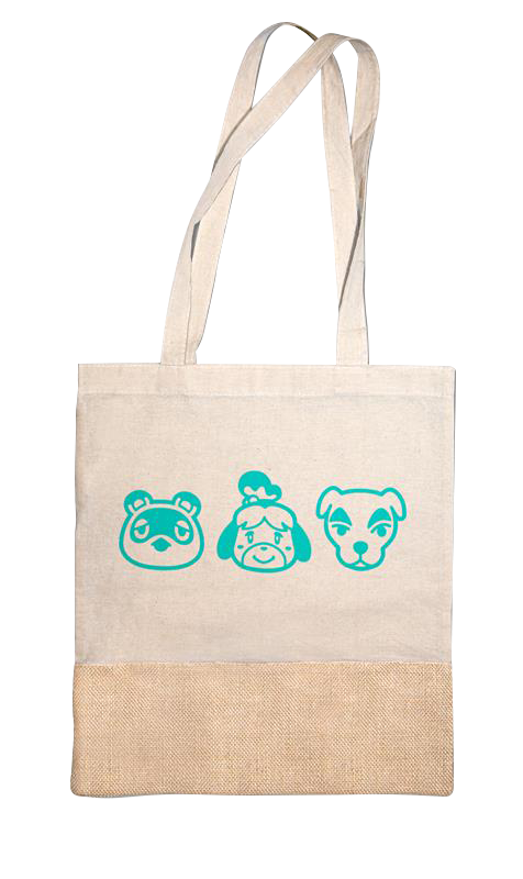 animal crossing switch mod�le tote bag micromania