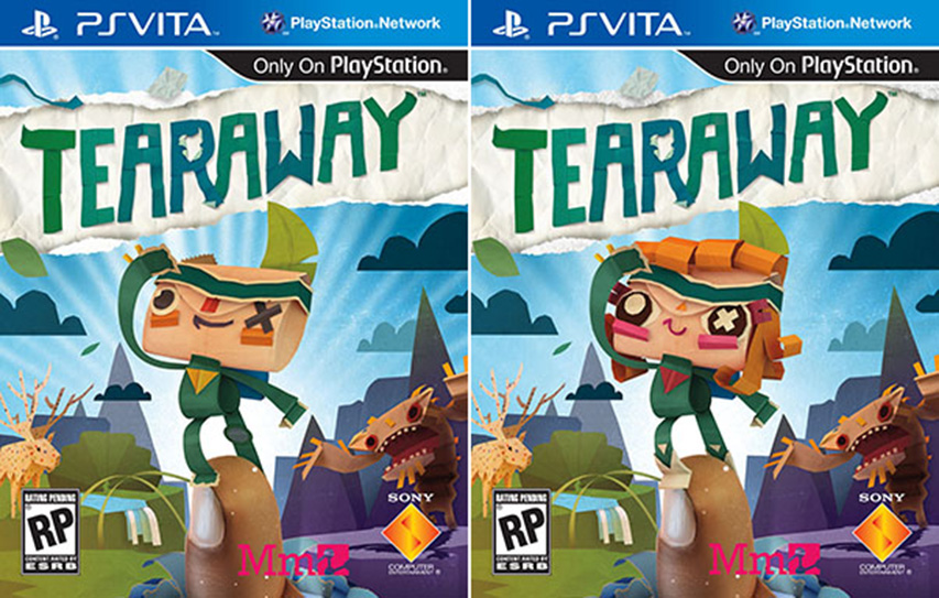 Tearaway, un jeu canon pour la vita.