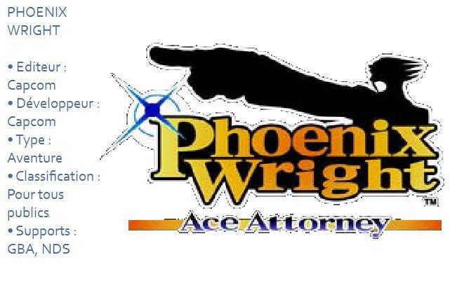 Phoenix Wright : Retro-Test