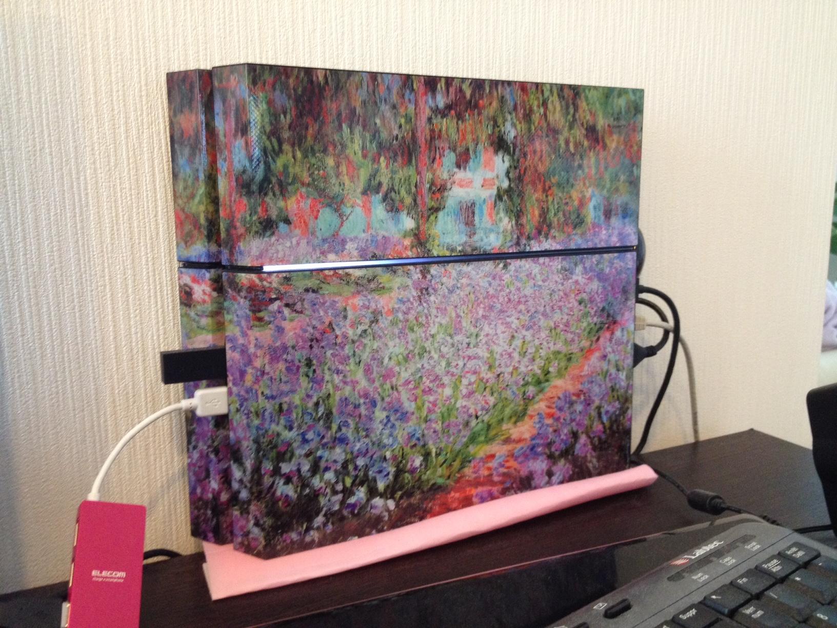 PS4 Claude Monet !