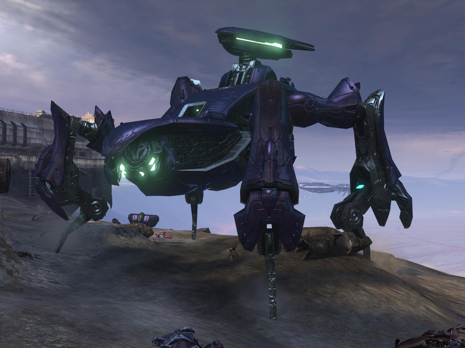 Halo 3 Flood Hunter Sc...