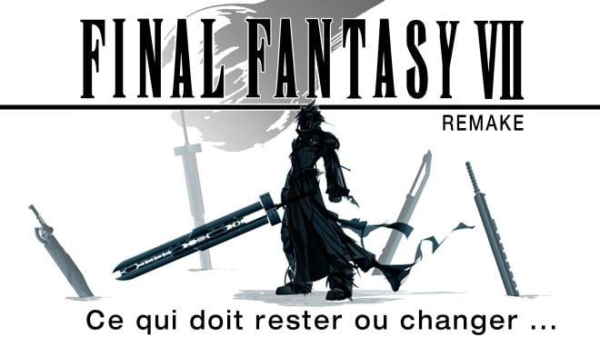 image d'intro avec logo final fantasy 7