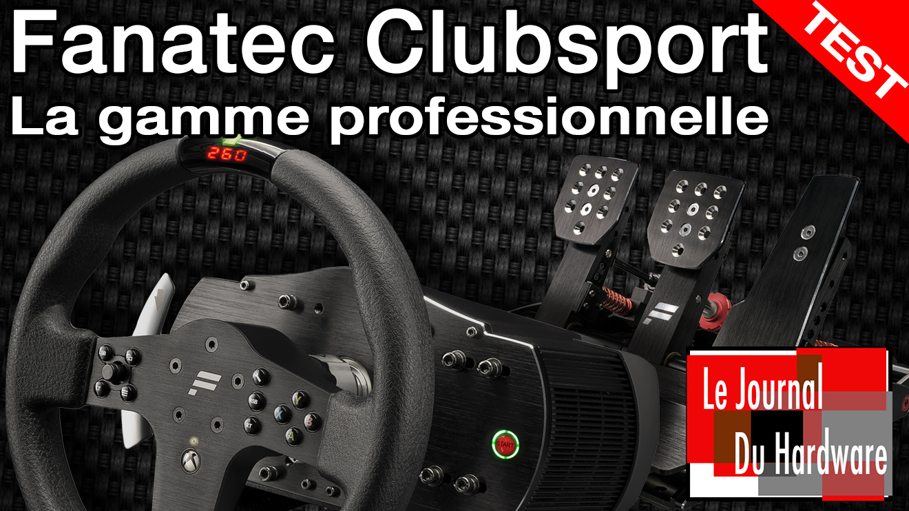 test du haut de gamme fanatec pour ps4 xboxone pc olive. Black Bedroom Furniture Sets. Home Design Ideas