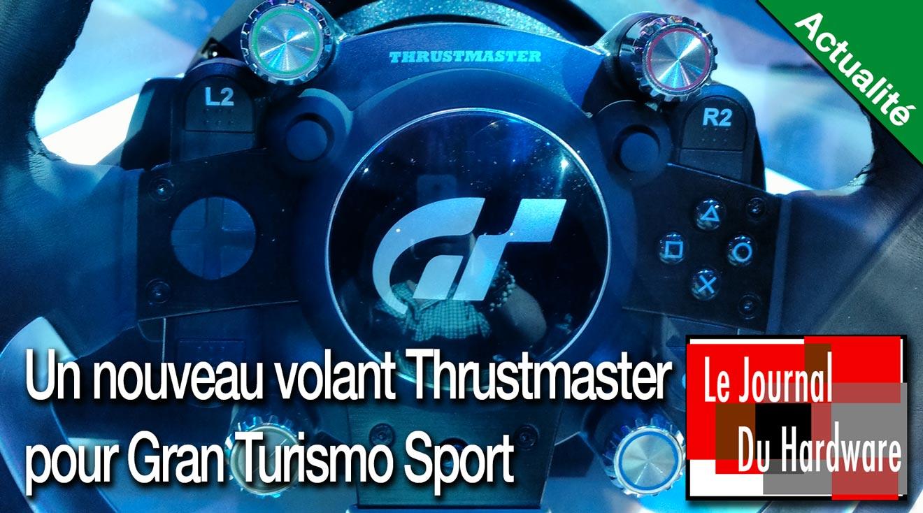 Un nouveau volant Thrustmaster pour Gran Turismo Sport