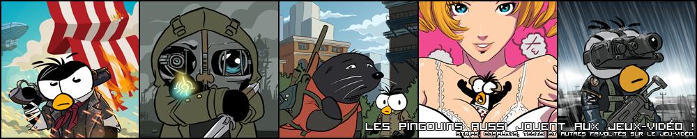 Les Pingouins aussi jouent aux jeux vidéo !
