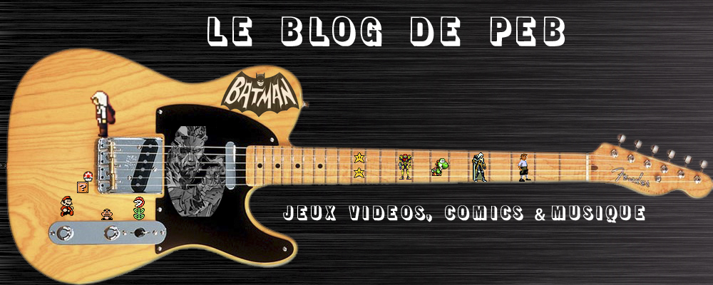 Le blog de PEB - Back to the geek culture