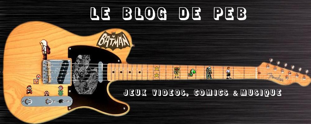 Le blog de PEB - Back to the geek culture