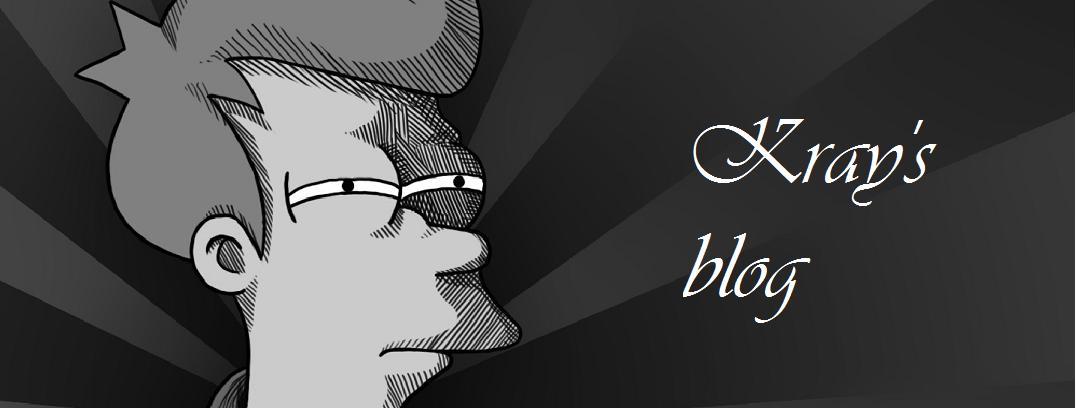 Kray's blog