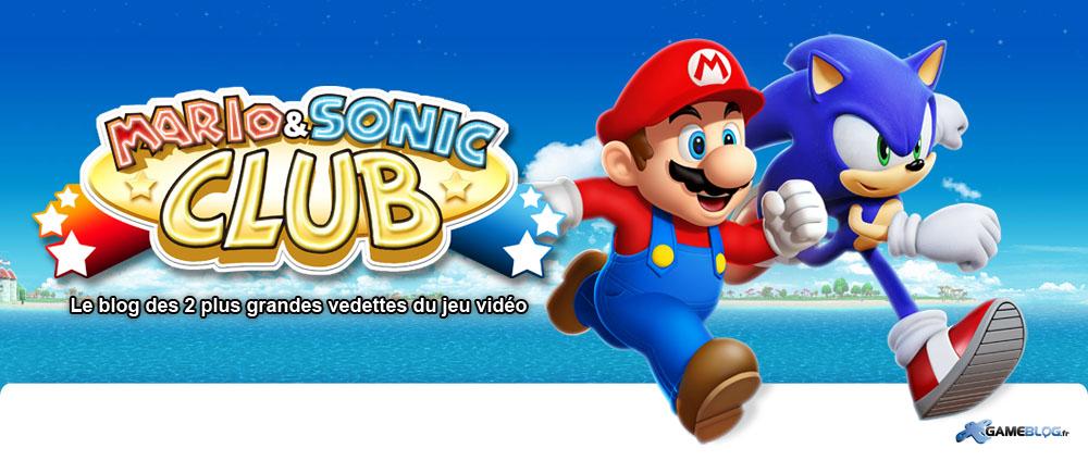 Le Mario & Sonic Club