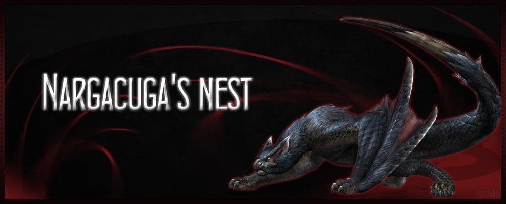 Nargacuga's nest