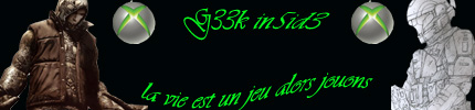 Le Blog de G33k In5id3