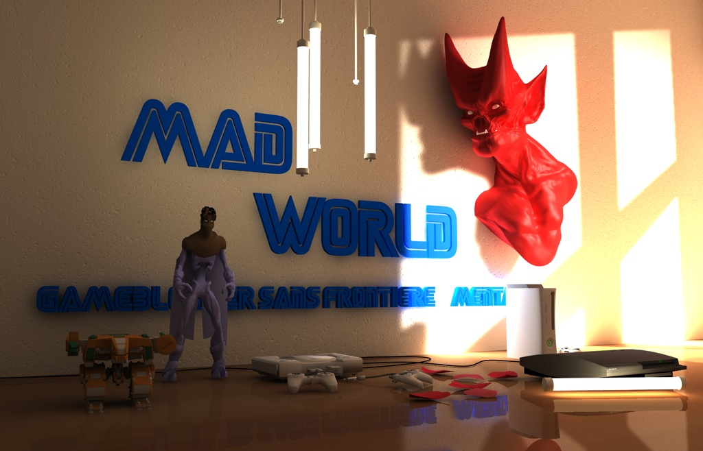 MAD WORLD - Gameblogger sans frontière...Mentale