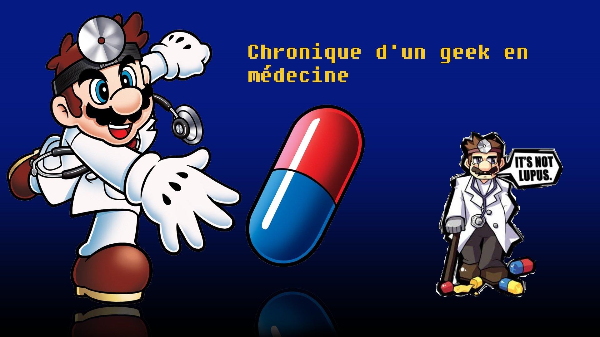 Chronique d'un geek en médecine