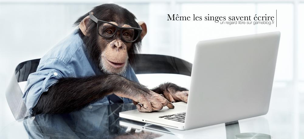 Même les singes savent écrire