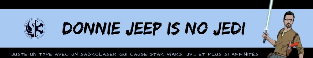Donnie Jeep is no Jedi