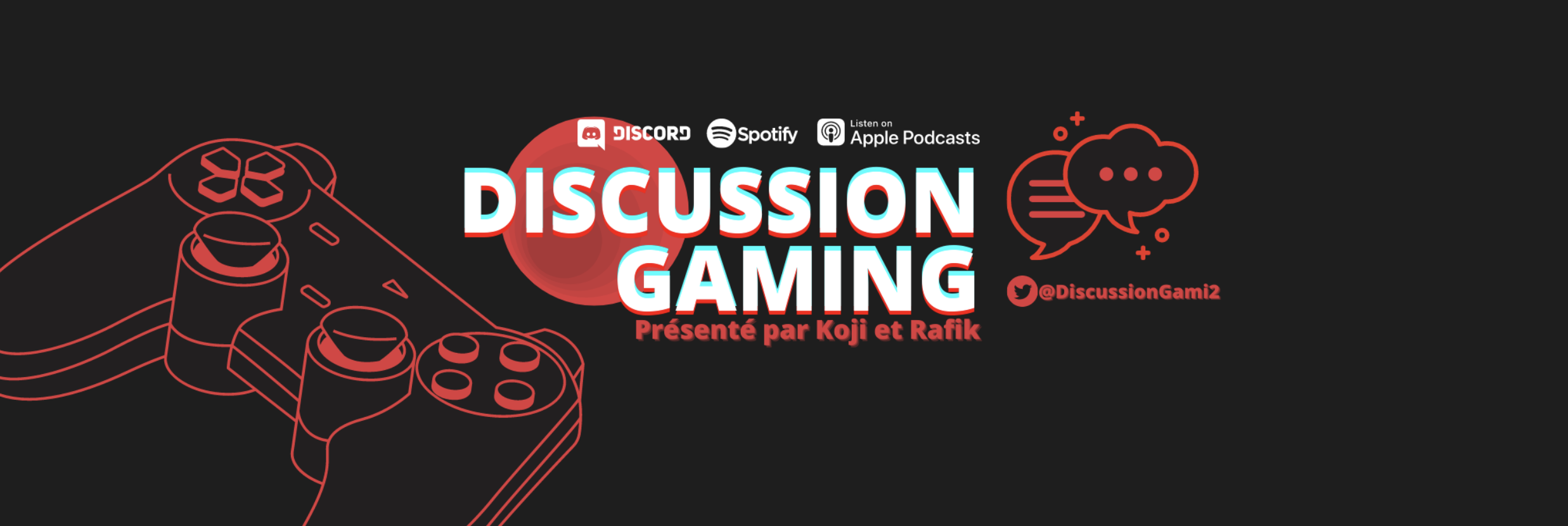 Discussion Gaming le Podcast