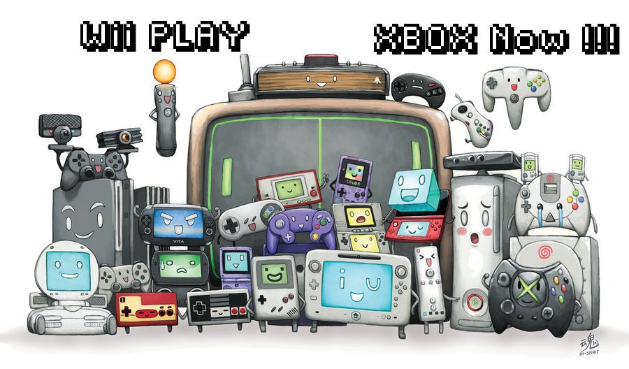 Wii Play Xbox Now !!! by Captain Slip
