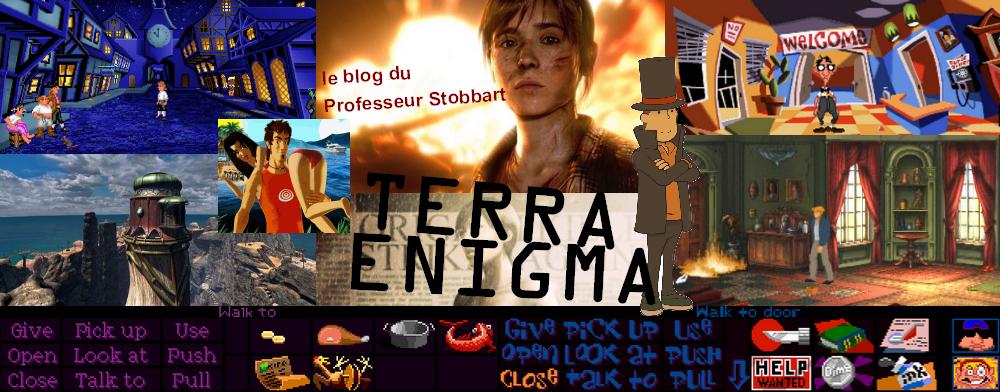 Terra Enigma, le blog des jeux d'aventure et des Point n' Click
