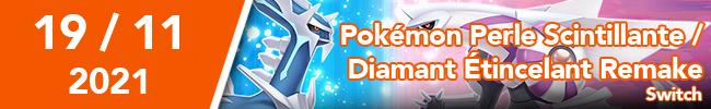 Pokémon Perle Scintillante / Diamant Etincelant Remake switch
