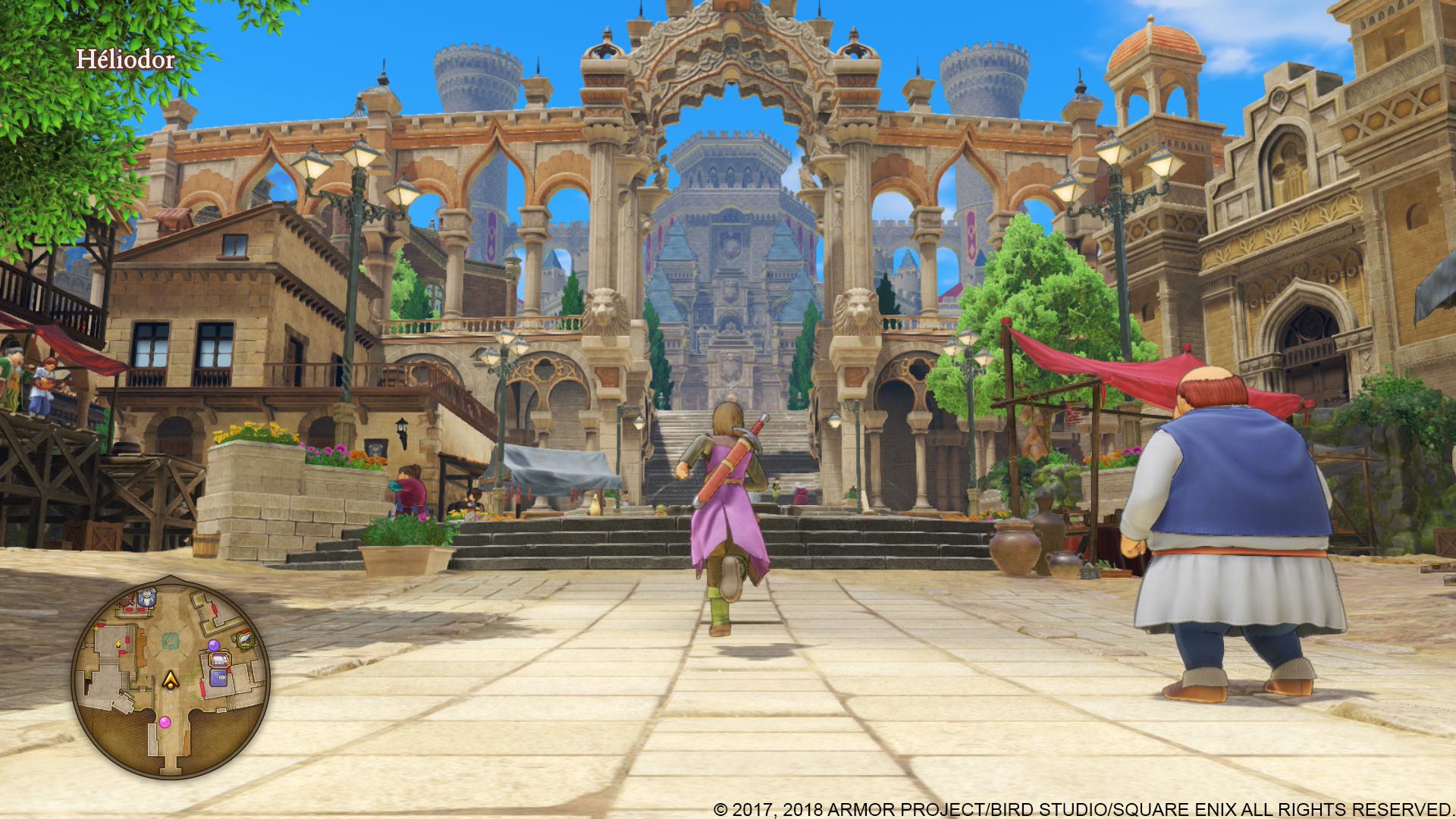 Longue présentation FR — Dragon Quest XI