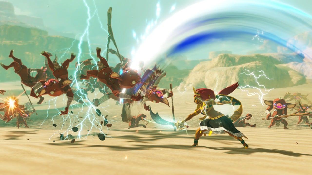 Hyrule Warriors L Ere Du Fleau Vous Fait Revivre La Legende De Zelda A La Fnac