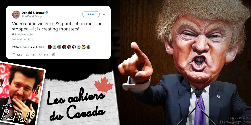 """Les Cahiers du Canada : """"C'est la faute des jeux vidéo"""""""