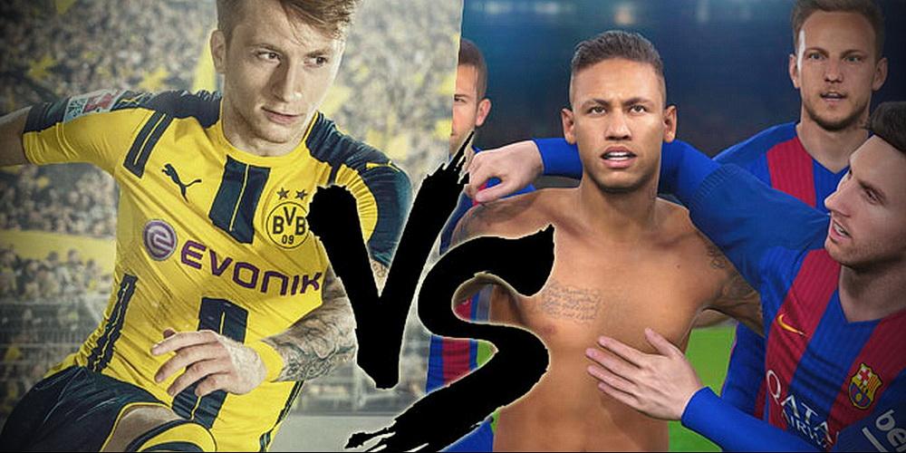 FIFA 17 vs PES 2017, le match : Comparatif et verdict de la rédaction