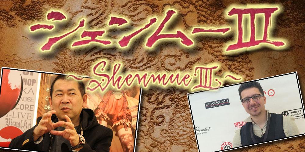 Shenmue 3 : Notre grande interview de Yu Suzuki et Cédric Biscay