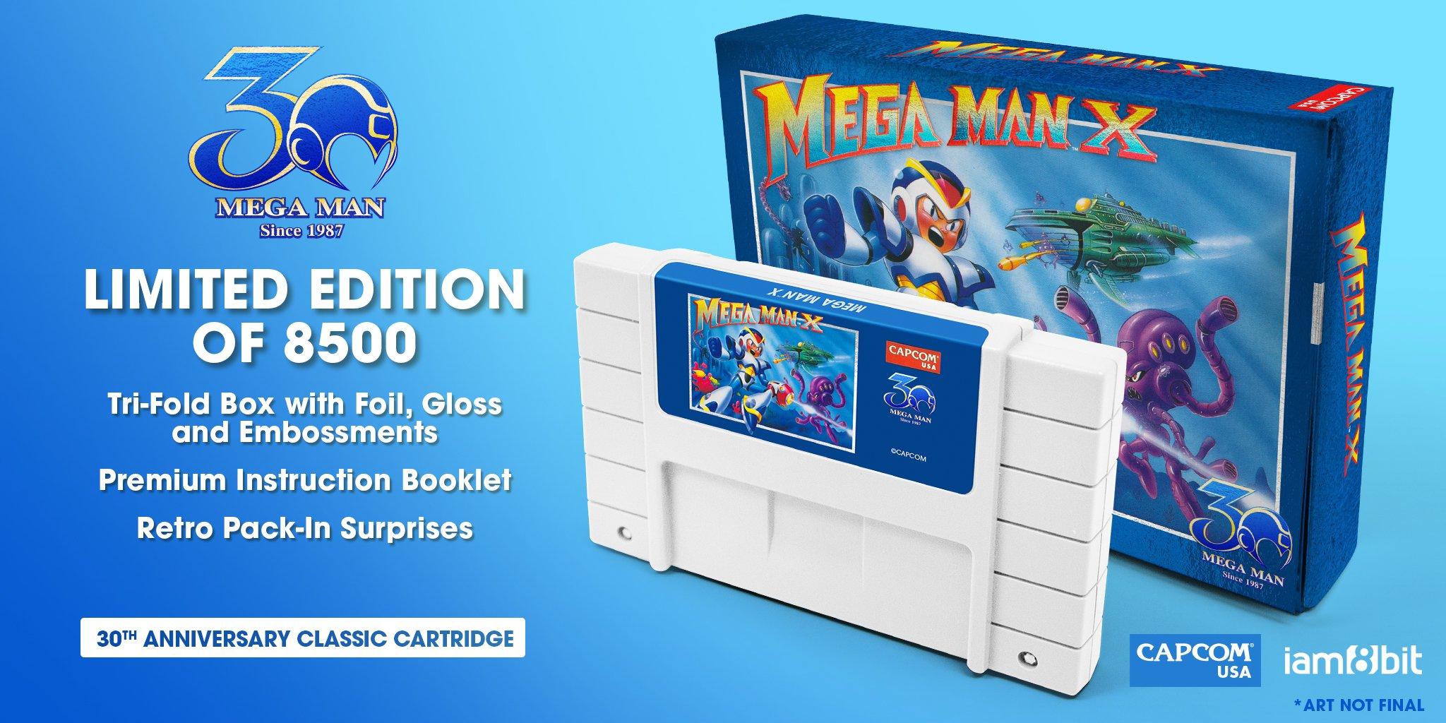 01-Mega Man X-30th Anniversary Classic Cartridge