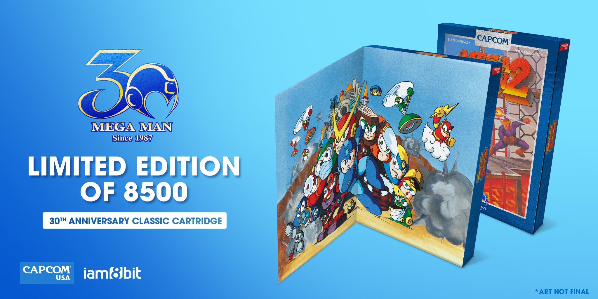 05-Mega Man 2-30th Anniversary Classic Cartridge