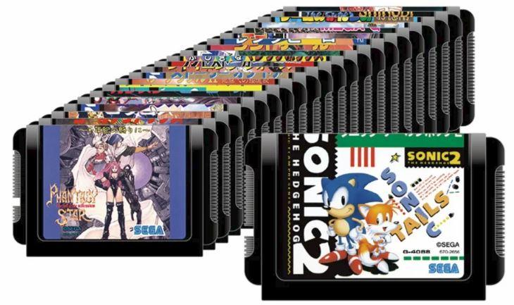 22 jeux mega drive 2