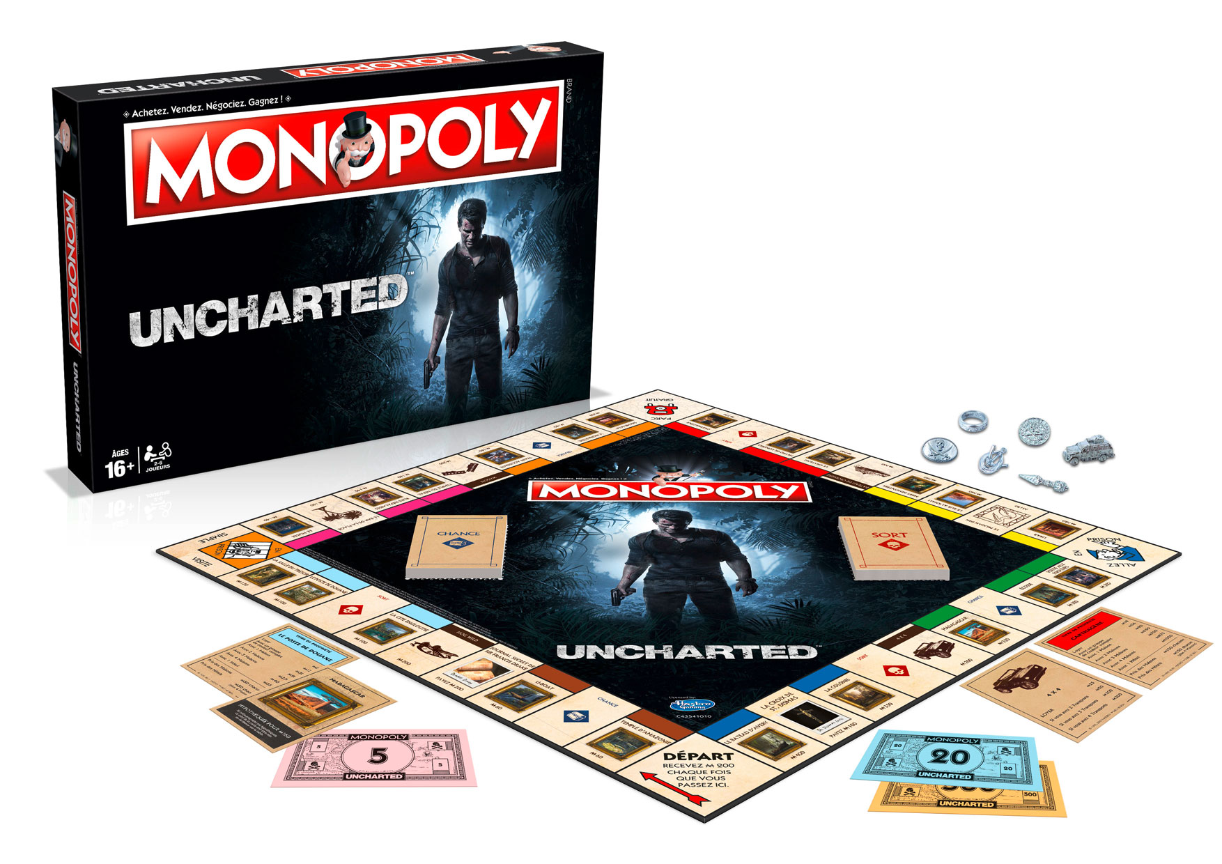 3700126909986 Monopoly Uncharted 3D